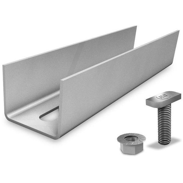 zestawy złączy do połączenia dwóch szyn aluminiowych