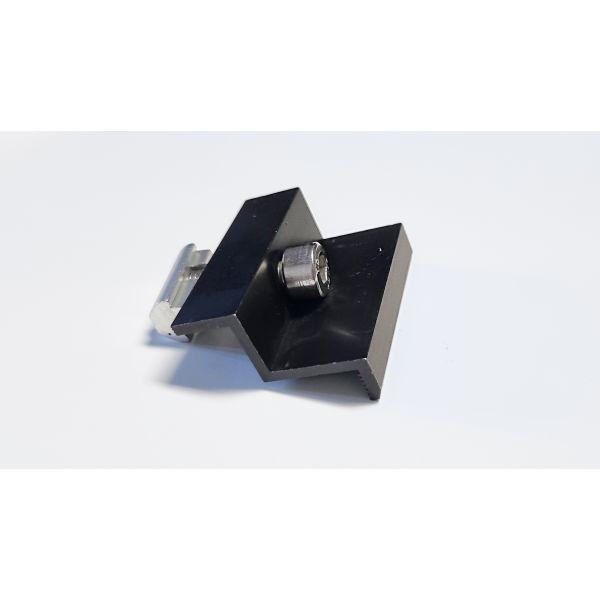 Uniwersalna klema końcowa 35mm - Czarna