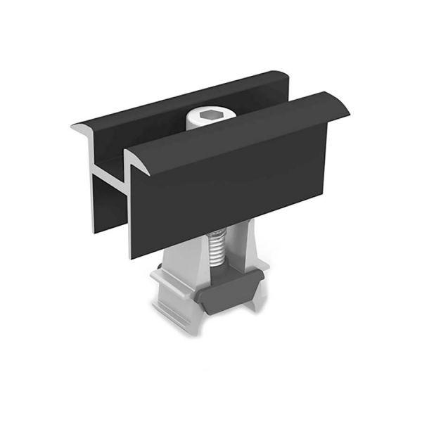 K2 OneMid uniwersalna klema środkowa, czarna (30-42mm)