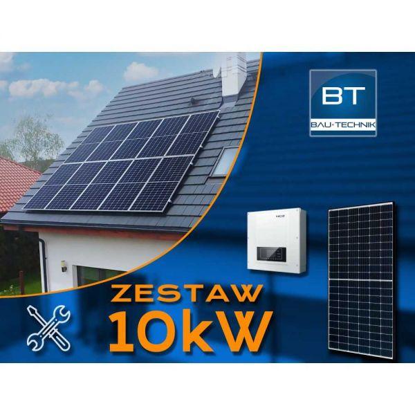 Zestaw fotowoltaiczny na dach - 10kW